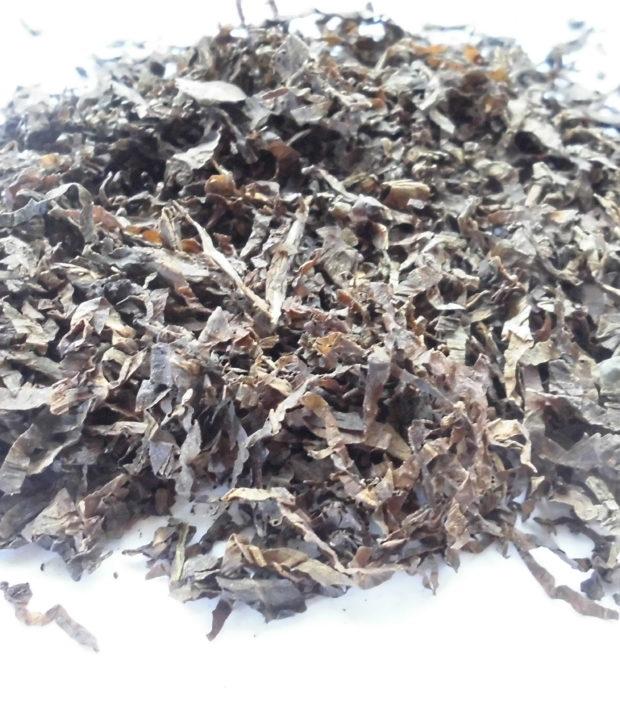 Mapacho (Nicotiana rustica) foglie trinciate e curate